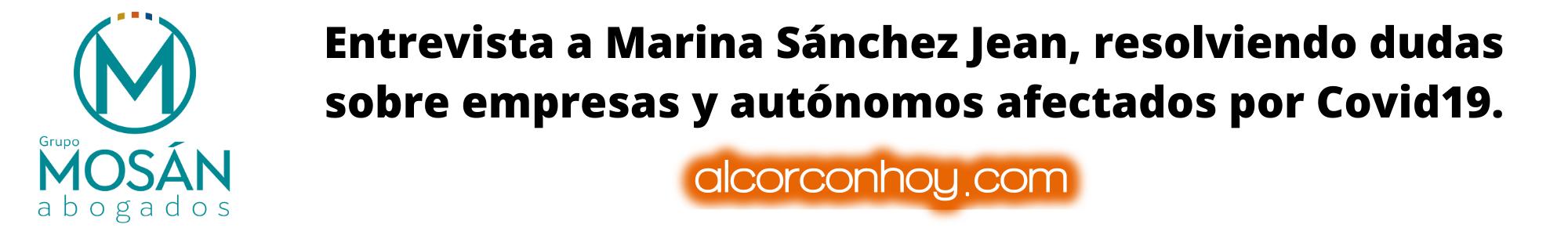 Entrevista Marina Sánchez Alcorcón Hoy
