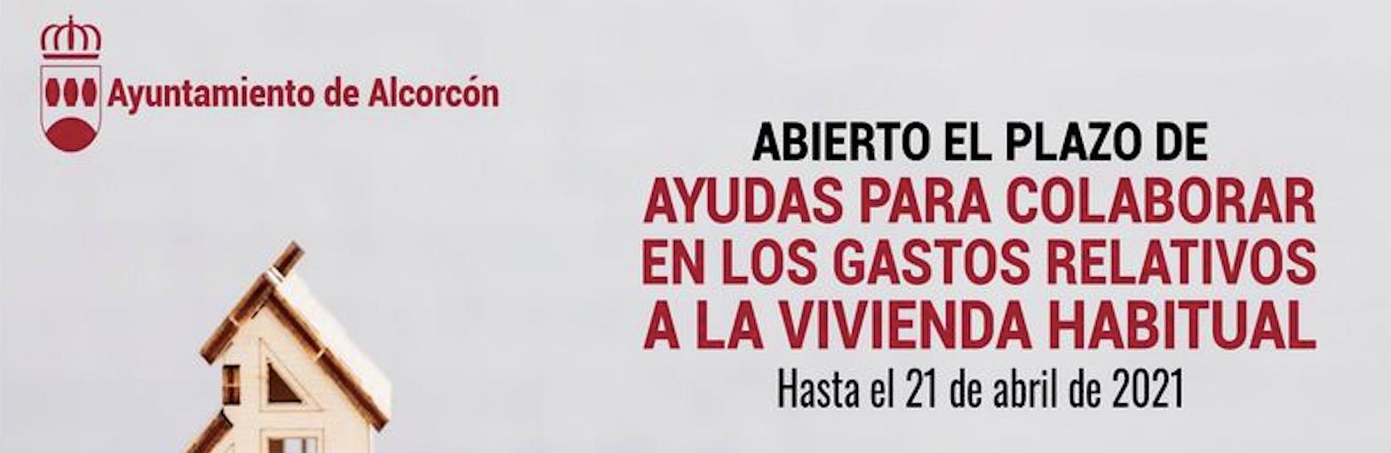 Ayudas Alcorcón gastos de vivienda